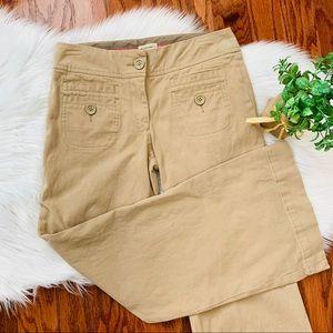 {Elevenses} Tan Corduroy Pants